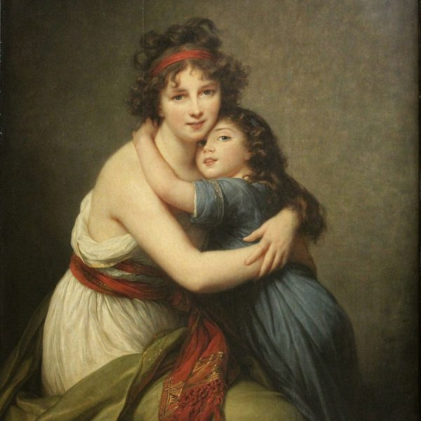 "LE BRUN'ÜN KIZI İLE OTOPORTRESİ ""SELF-PORTRAIT OF LE BRUN WITH HER DAUGHTER"" – LE BRUN"