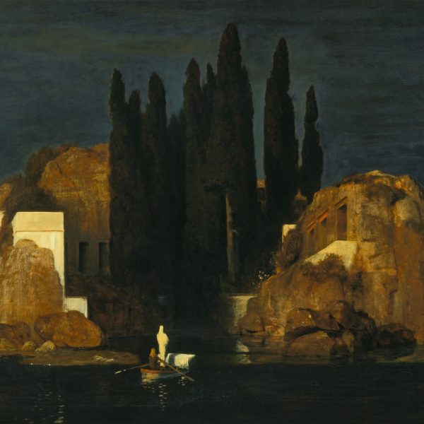 "ÖLÜLER ADASI ""THE ISLE OF THE DEAD"" – BÖCKLIN"