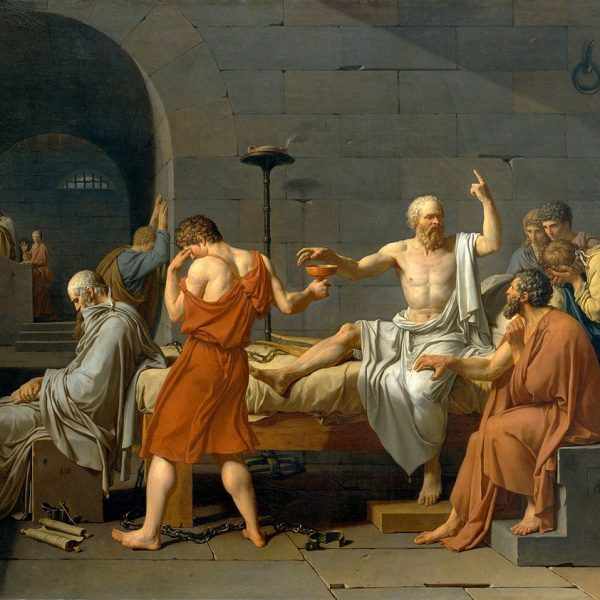 "SOKRATES'İN ÖLÜMÜ ""THE DEATH OF SOCRATES"" – DAVID"