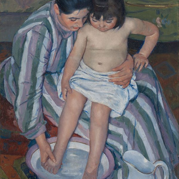 "ÇOCUĞUN BANYOSU ""THE CHILD'S BATH"" – CASSATT"