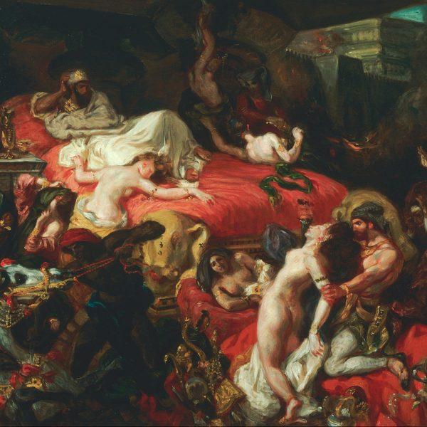 "SARDANAPALUS'UN ÖLÜMÜ ""THE DEATH OF SARDANAPALUS"" – DELACROIX"