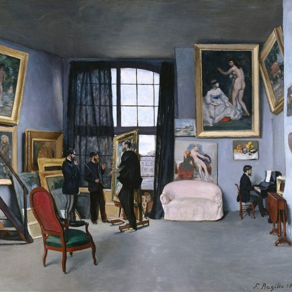 "BAZILLE'İN ATÖLYESİ ""THE STUDIO OF BAZILLE"" – BAZILLE"