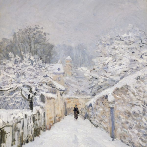 "LOUVECIENNES'DA KAR ""SNOW AT LOUVECIENNES"" – SISLEY"