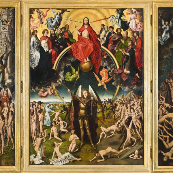 "KIYAMET GÜNÜ ÜÇLEMESİ ""THE LAST JUDGEMENT TRYPTICH"" – MEMLING"