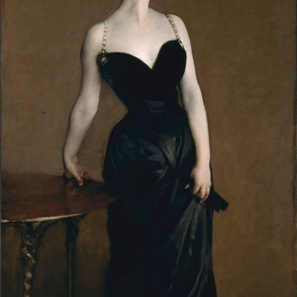 "MADAM X'İN PORTRESİ ""THE PORTRAIT OF MADAME X"" – SARGENT"