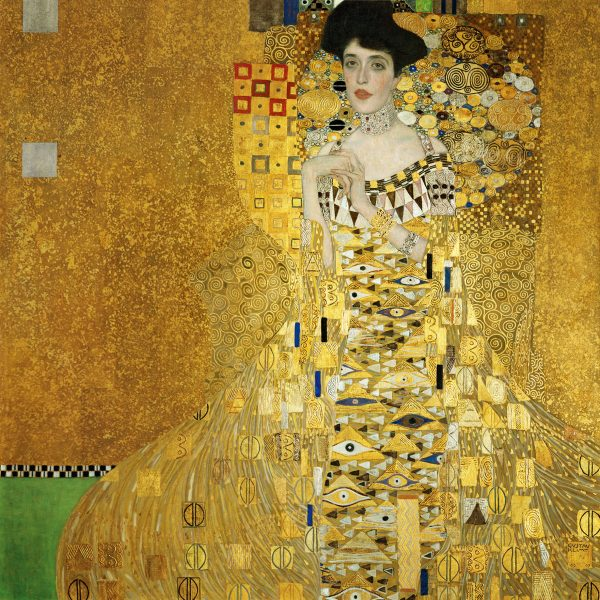 "ADELE BLOCH-BAUER'İN PORTRESİ ""THE PORTRAIT OF ADELE BLOCH-BAUER"" – KLIMT"