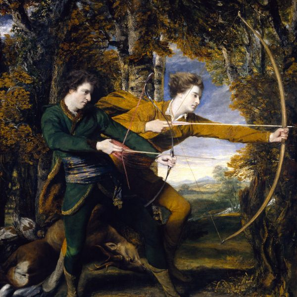 "ALBAY ACLAND VE LORD SYDNEY – OKÇULAR ""COLONEL ACLAND AND LORD SYDNEY – THE ARCHERS"" – REYNOLDS"