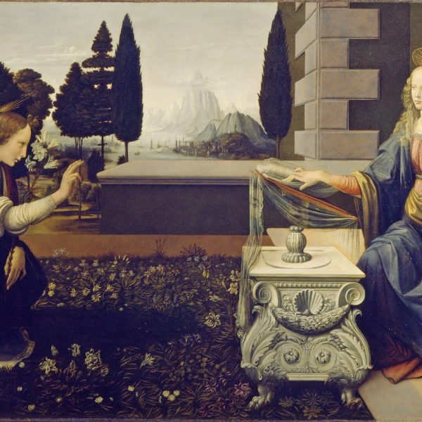 THE ANNUNCIATION - LEONARDO DA VINCI