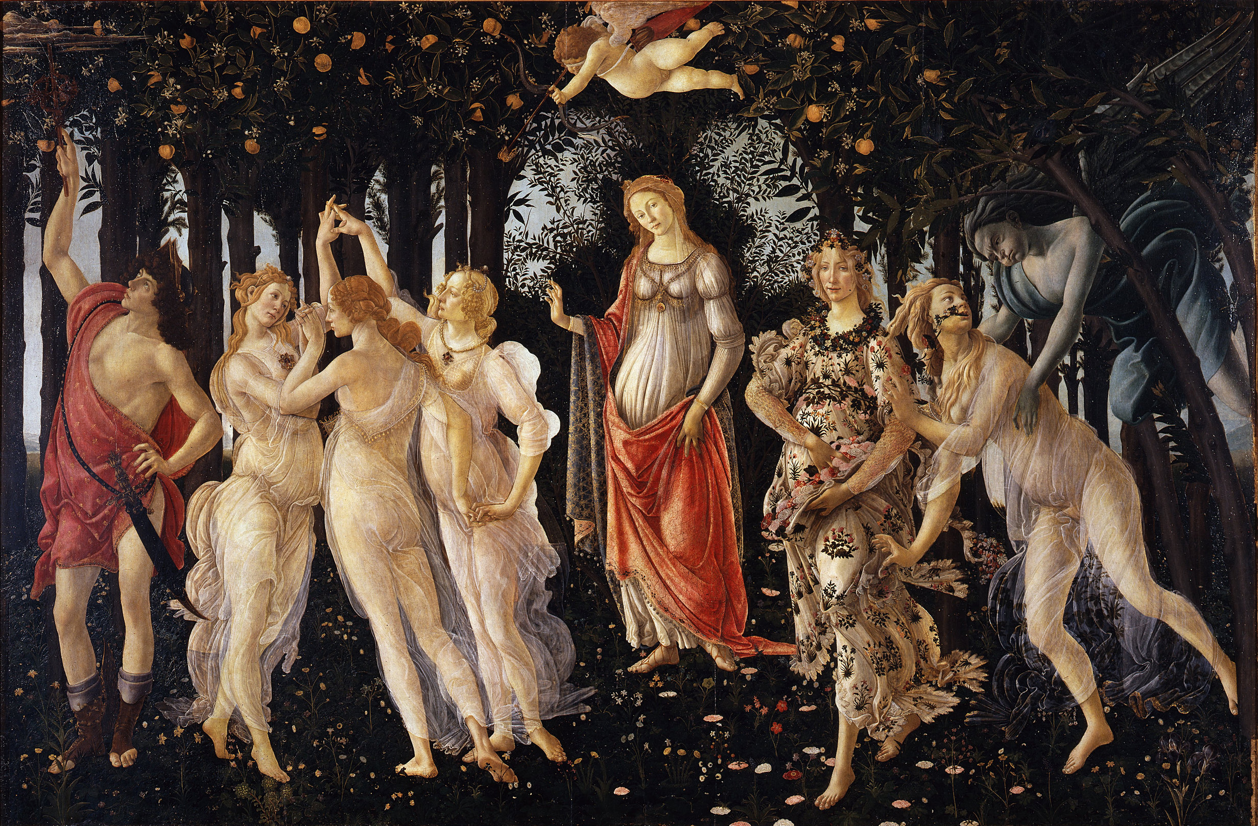 "BAHAR ALEGORİSİ ""ALLEGORY OF SPRING"" – BOTTICELLI"