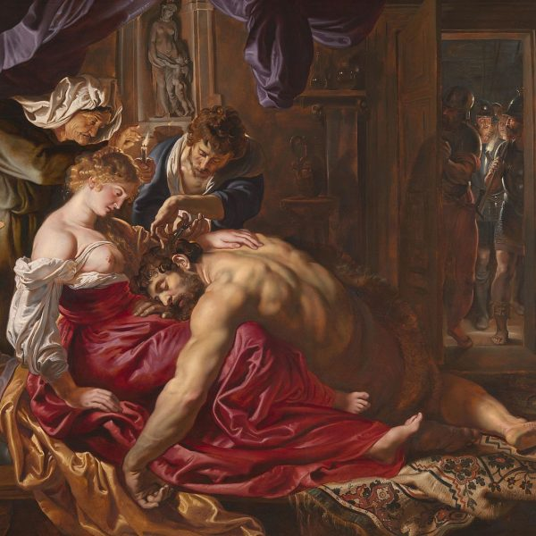 SAMSON AND DELILAH - RUBENS