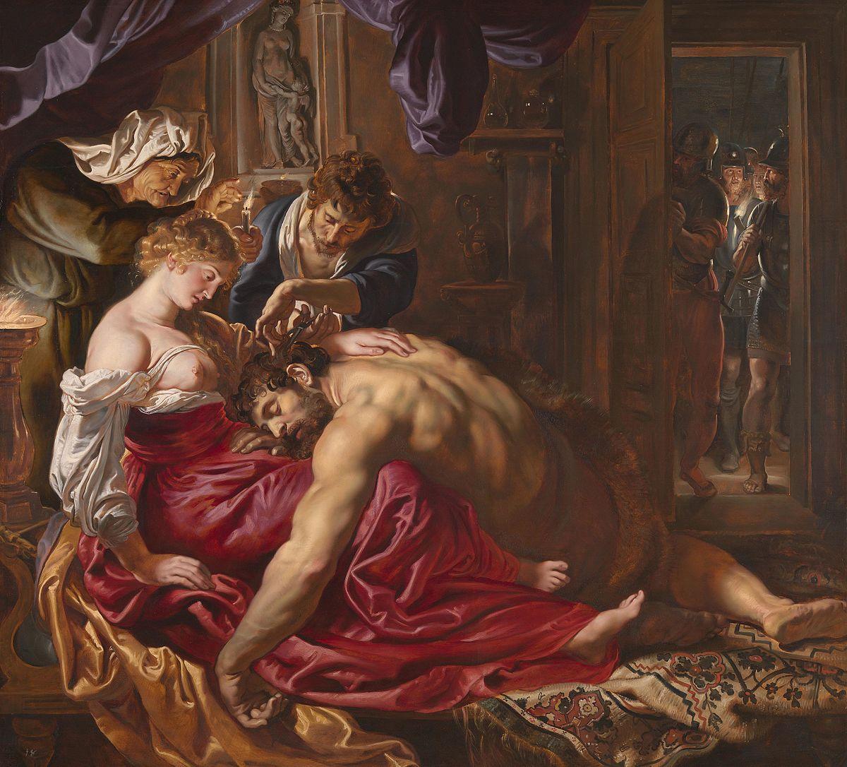 SAMSON AND DELILAH – RUBENS