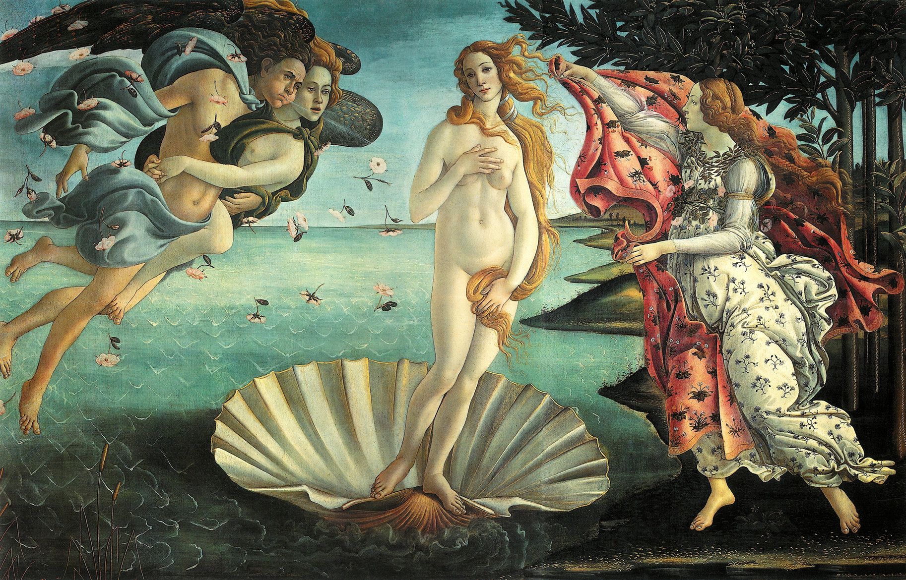 "VENÜS'ÜN DOĞUŞU ""THE BIRTH OF VENUS"" – BOTTICELLI"