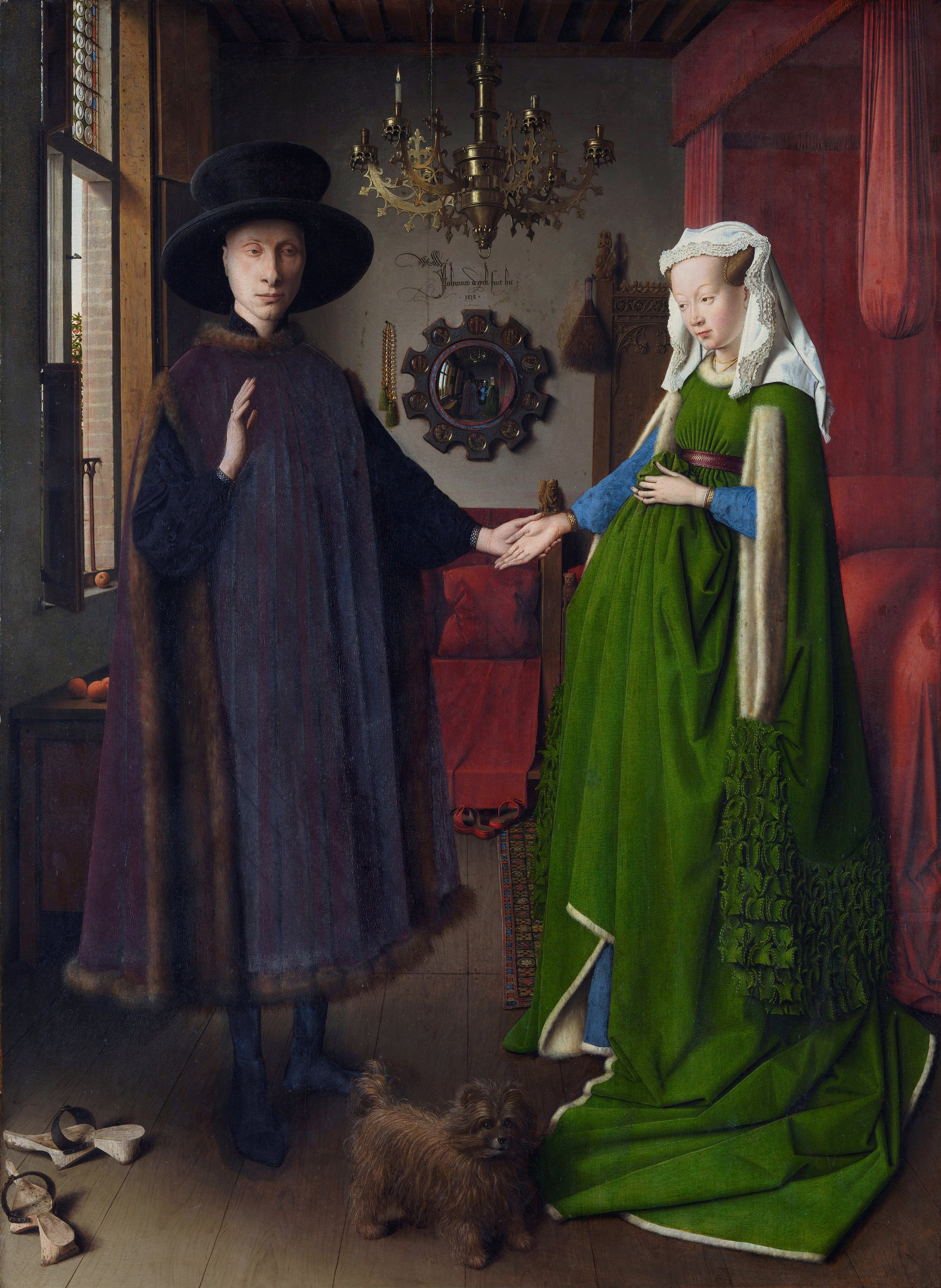 "ARNOLFİNİ DÜĞÜNÜ ""THE ARNOLFINI WEDDING"" – VAN EYCK"