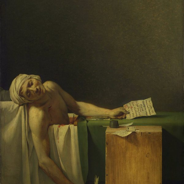 "MARAT'NIN ÖLÜMÜ ""THE DEATH OF MARAT"" – DAVID"