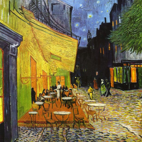 "GECE TERAS KAFE ""CAFÉ TERRACE AT NIGHT"" – VAN GOGH"