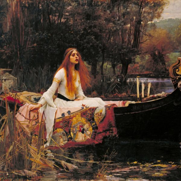"SHALOTT LEYDİSİ ""THE LADY OF SHALOTT"" – WATERHOUSE"