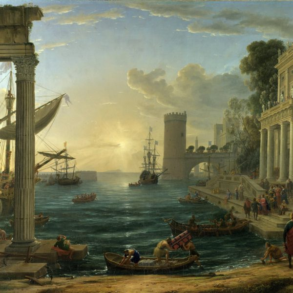 "SABA KRALİÇESİ'NİN YOLA ÇIKIŞI ""THE EMBARKATION OF QUEEN OF SHEBA"" – LORRAIN"