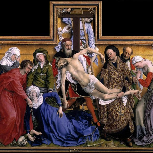 "ÇARMIHTAN İNDİRİLİŞ ""THE DESCENT FROM THE CROSS"" – VAN DER WEYDEN"