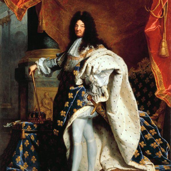 "XIV. LOUIS ""LOUIS XIV"" – RIGAUD"