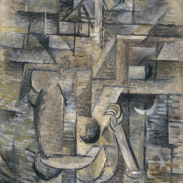 "MANDOLİNLİ KADIN ""WOMAN WITH A MANDOLIN"" – BRAQUE"